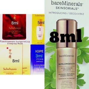 Bareminerals Skinlongevity serum + sulwhasoo iope